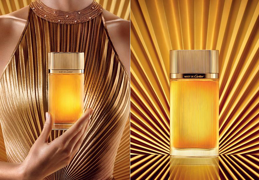 Scente интернет магазин парфюмерии Cartier Must De Cartier Gold